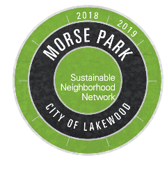 Sustainable Morse Park Logo with Dates